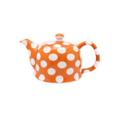 Yedi teapot in pumpkin orange