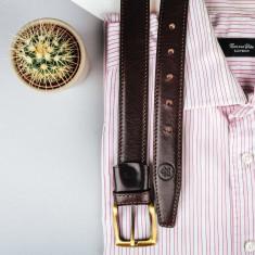The GianniB luxury leather belt for men