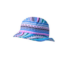 Girls' UPF 50+ bucket hat in aztec print