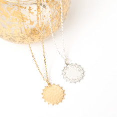 Personalised Solar Pendant Necklace