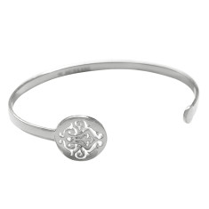 Tangier open cuff in sterling silver