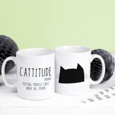 Cattitude Definition Mug