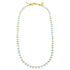 Delicate turquoise Andes necklace