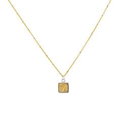 Sparkle druzy pendant