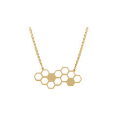 Honeycomb Hexagon Pendant