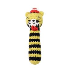 Tricky Tiger Weegoamigo Crochet Rattle