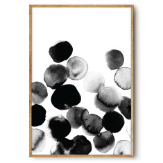 Black Ink 3 - wall art print