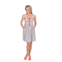 Sandy dress (in grey or blue)