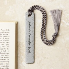 Personalised 'Favourite Book' Bookmark