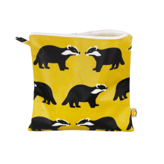 Kissing Badgers Extra Large Cosmetic Toiletry Bag