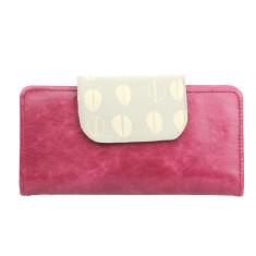 Zurich purse in pomegranate