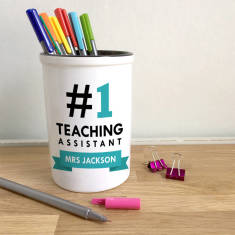 Personalised #One Teacher Pen Pot