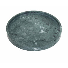 Green Round Marble Tray