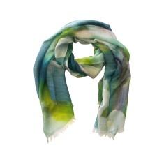 Blossom silk scarf