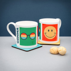 Personalised Hippie (Est 1960's) Mug