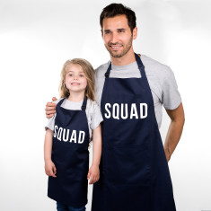 Dad And Me 'Squad' Apron Set