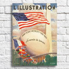 New York World's Fair Print