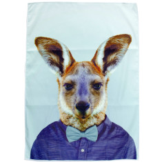Kangaroo tea towel