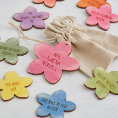 Mother's day personalised message tokens
