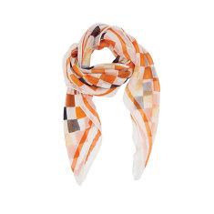 Banjara cream cashmere square scarf
