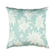 Flannel Flower Cushion Cover in Mint