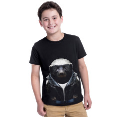 Honey Badger kid's tee
