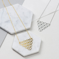 Cubic Triangle Necklace