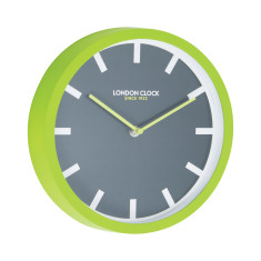 London Clock Company Pop Lime Silent Wall Clock