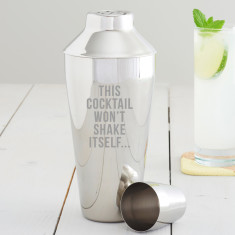 This Cocktail Won't Shake Itself Shaker