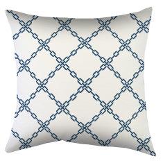 Indoor Cushion Nautical Chains