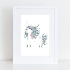 Eunice Unicorn Limited Edition Fine Art Print