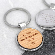 Personalised Lucky Stars Keyring