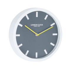 London Clock Company Pop White Silent Wall Clock