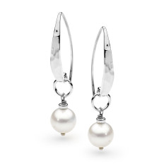 575c3b104 Leoni & Vonk sterling silver and pearl drop earring