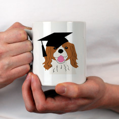 Personalised University Student Graduation Mug Dog Gift