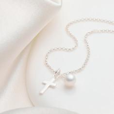 My First Communion Cross Necklace. Children's ...