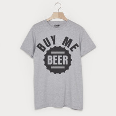 efd99c9b Buy me beer men's slogan t-shirt (various options)