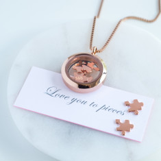 I Love You To Pieces Necklace
