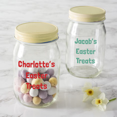 Easter gift ideas hardtofind personalised easter jar negle Choice Image
