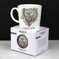 Nut Tree Black Travel Mug