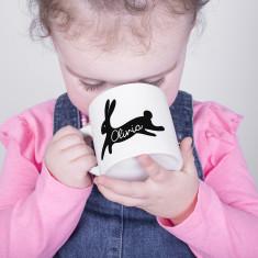 Easter gift ideas hardtofind personalised bunny rabbit childrens mug negle Gallery