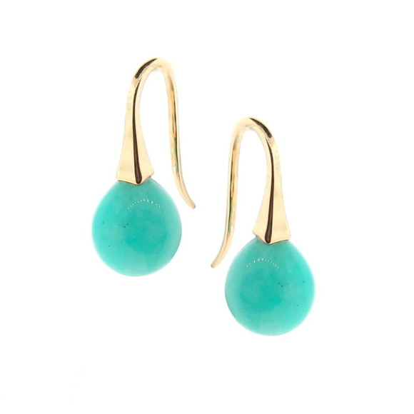 Short drop earrings