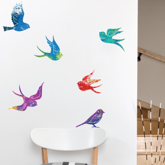 Zen birds by Little Studio