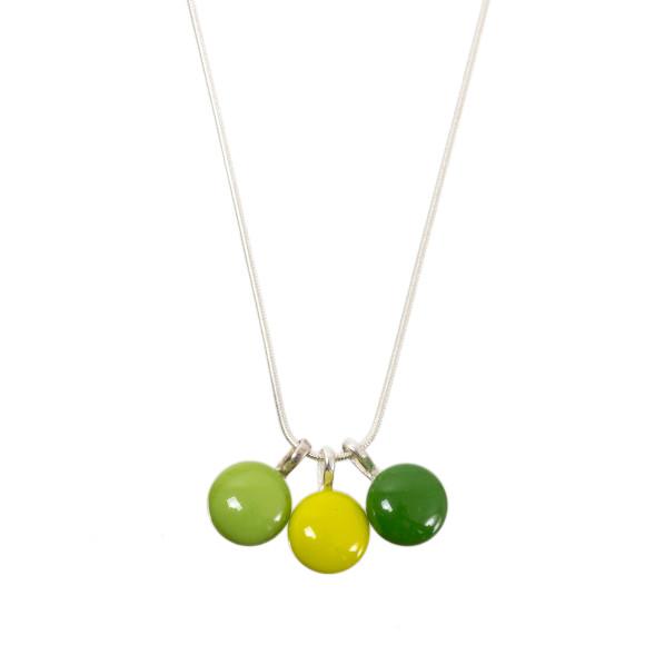Triplette necklace