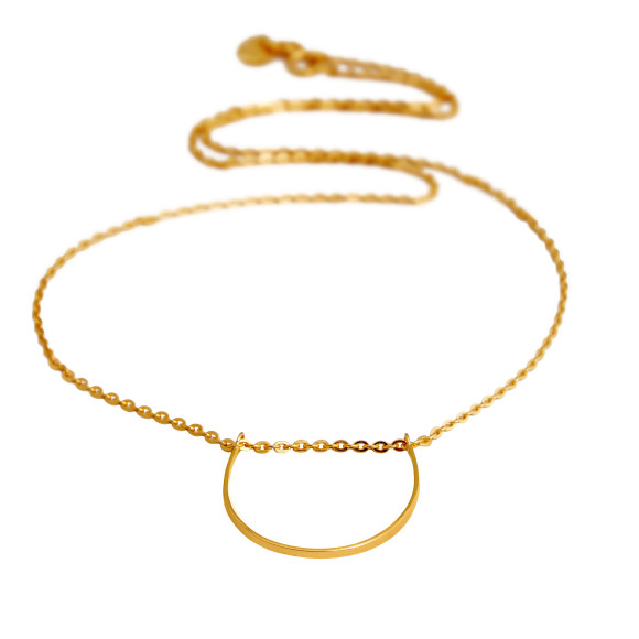 u necklace gold