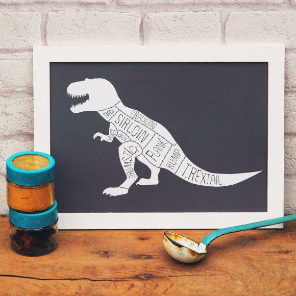 T Rex print 2