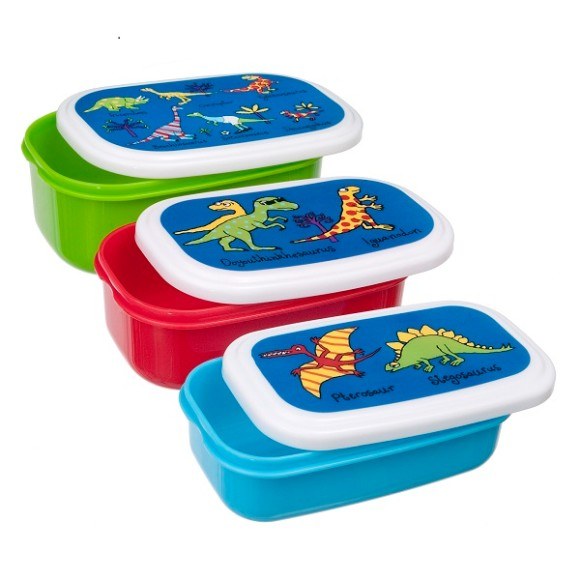 Dinosaur Snack Boxes
