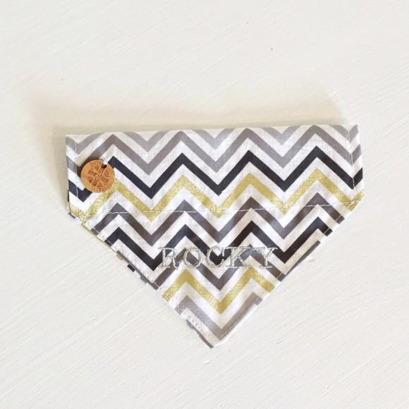 Chevron dog bandana