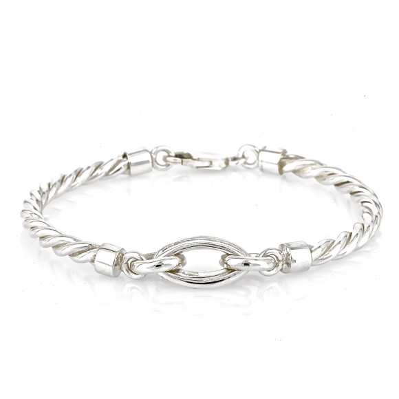 Silver Rope Vienna Bracelet