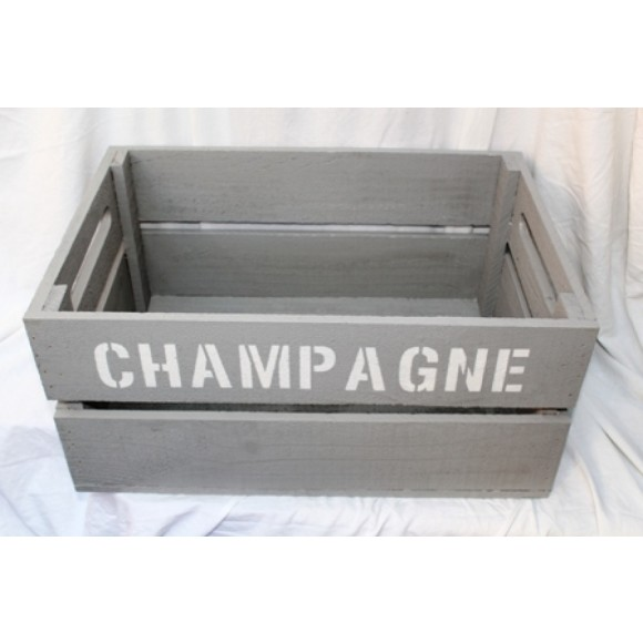 Champagne crate